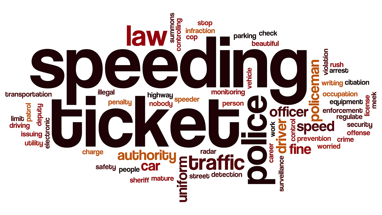 Reasons for Speeding - Cops Are Not Buying It
